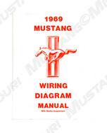 1964-1973 Ford Mustang Wiring Diagram Manual
