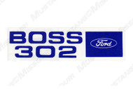 1969-1970 Ford Mustang Boss 302 Valve Cover Decal