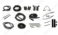 1964-1966 Ford Mustang deluxe weatherstrip kit for Coupe.
