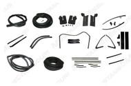 1964-66 Convertible Weatherstrip Kit Deluxe