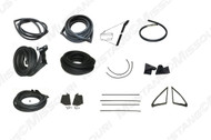 1967-1968 Ford Mustang Fastback deluxe weatherstrip kit.
