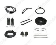1967-1968 Ford Mustang Convertible weatherstrip kit, basic.