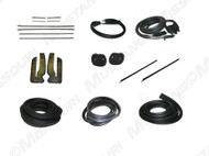 1969-1970 Ford Mustang Coupe weatherstrip kit, basic.