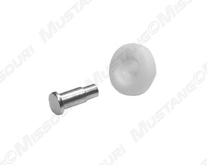1967 68 ford mustang window regulator roller pin for 1967 mustang window rollers