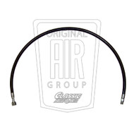 1969-1970 Ford Mustang Suction hose, 8 cylinder.