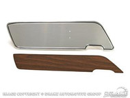 1969-70 Deluxe Door Panel Woodgrain Inserts