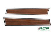 1971-73 Deluxe Door Panel Trim Woodgrain