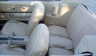 1968 Ford Mustang seat upholstery.  Full set front bucket and rear seatcovers.