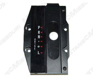 1964-1966 Ford Mustang console automatic shift plate assembly.