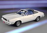 1977-1978 Ford Mustang T-Top Pillar Post Seal