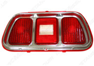 1971-73 Tail Lamp Lens & Bezel Ford