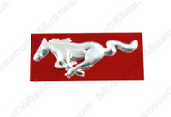 1967-1968 Ford Mustang dash panel emblem.