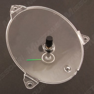 1969-1970 Ford Mustang dash clock lens with pointer.