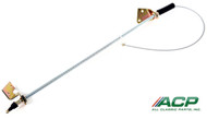 1964-1966 Ford Mustang front parking or emergency brake cable.