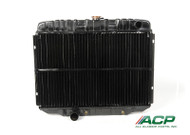 1968-1970 Ford Mustang 8 cylinder, 3 row radiator.  Original style brass/copper blend with 95% copper purity.