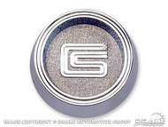 1966-67 Shelby Center Cap 10 Spoke