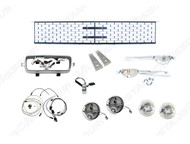 1966 Fog Lamp Conversion Kit w/ Grille