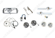 1967 Fog Lamp Conversion Kit w/o Grille