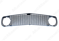 1969 Ford Mustang Mach I grille.  Fits standard or GT models. Made from the original Ford tooling.