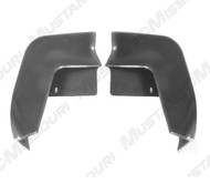 1971-1972 Ford Mustang front bumper to fender filler panels, pair.