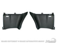 1969-70 Fastback Upper Side Panels