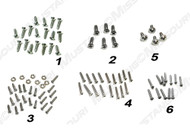 1967-1968 Ford Mustang fastback interior screw kit.