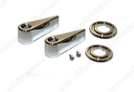 1968-69 Seat Latch Handle & Bezel Set