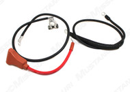 1965 Ford Mustang battery cable set, concours correct.