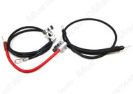 1968-1969 Ford Mustang battery cable set, concours correct.