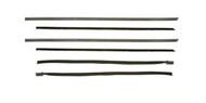 1967-68 Weatherstrip Beltline Fastback Deluxe