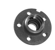 1964-1969 Ford Mustang drum brake hub.  Fits 260 and 289 c.i. A quality reproduction, studs not included.