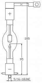 ASL XM1600HSC/R Xenon Lamp