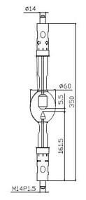 ASL XD3000HTP/G Xenon Lamp