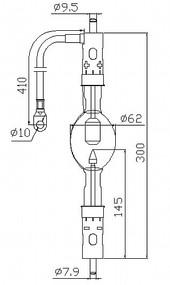 ASL XD3000LA/G Xenon Lamp