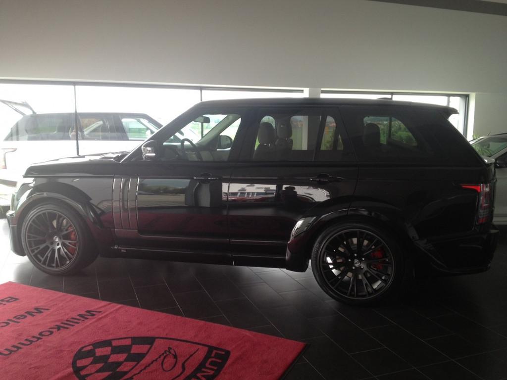 Range Rover Vogue Lumma CLR R Body kit