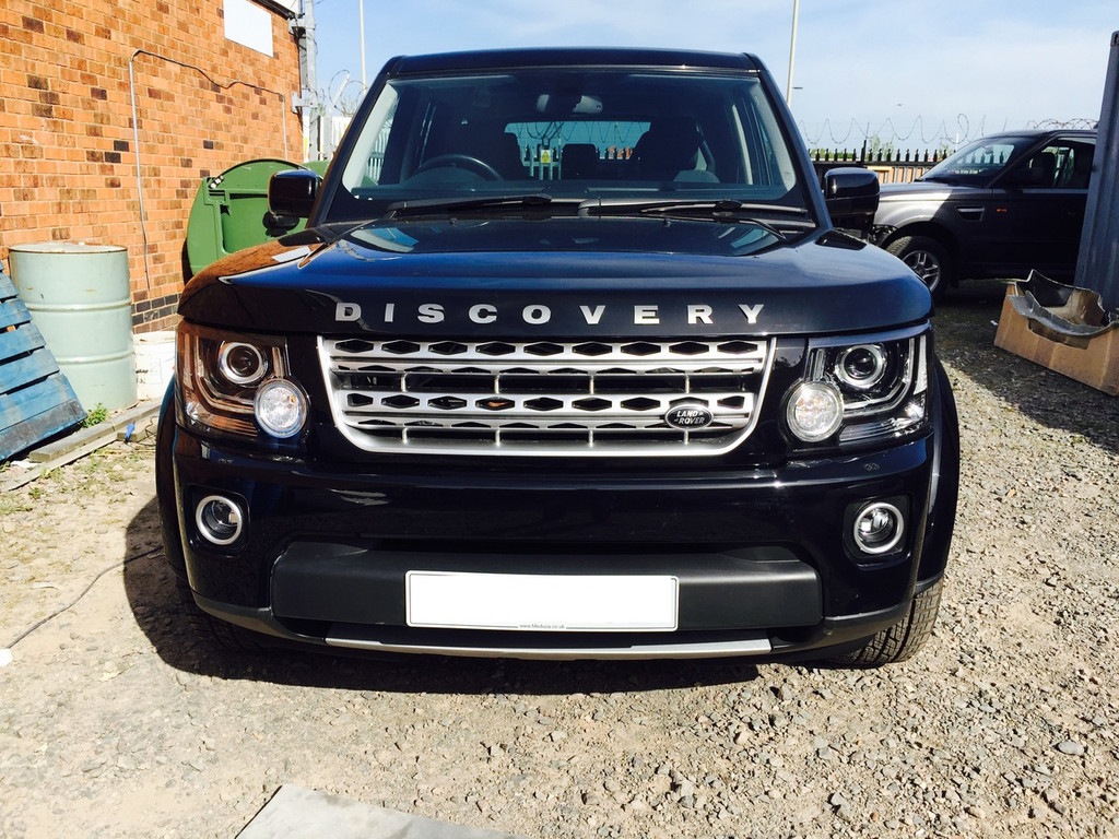 land rover discovery 3 to 4 2014 conversion facelift. Black Bedroom Furniture Sets. Home Design Ideas