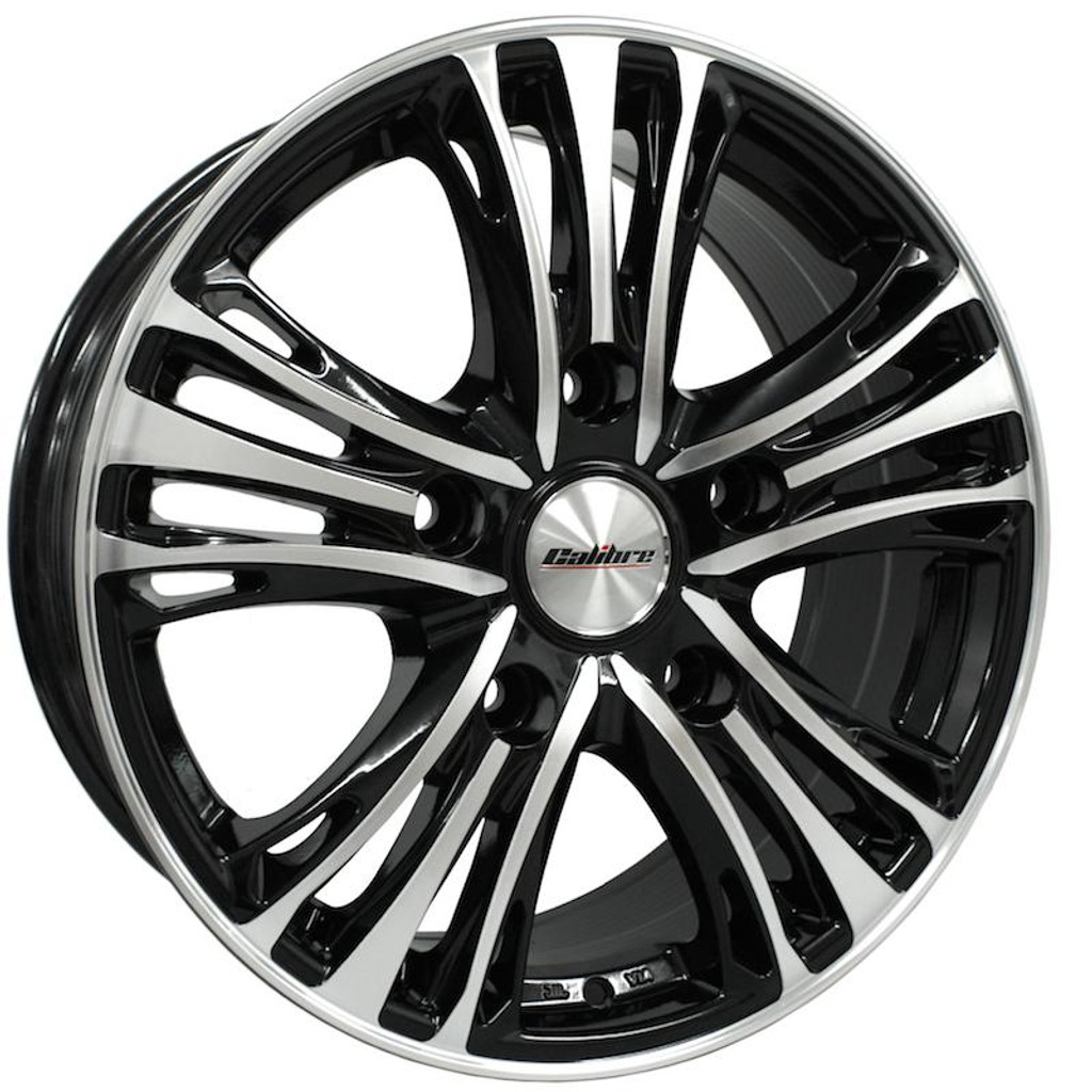 """Calibre Odyssey 18"""" Alloy Wheels Ford Transit Fitment"""