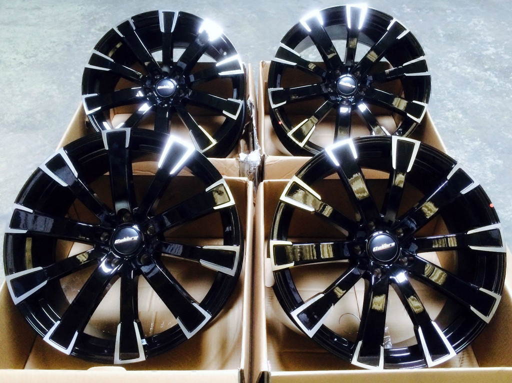 "Calibre Manhattan 20"" Alloy Wheels VW Transporter T5"