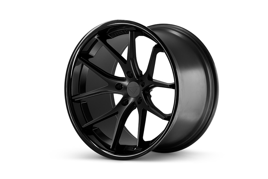 "22"" x 11J Alloy Wheels Ferrada FR2 Matt Bronze Gloss Lip"