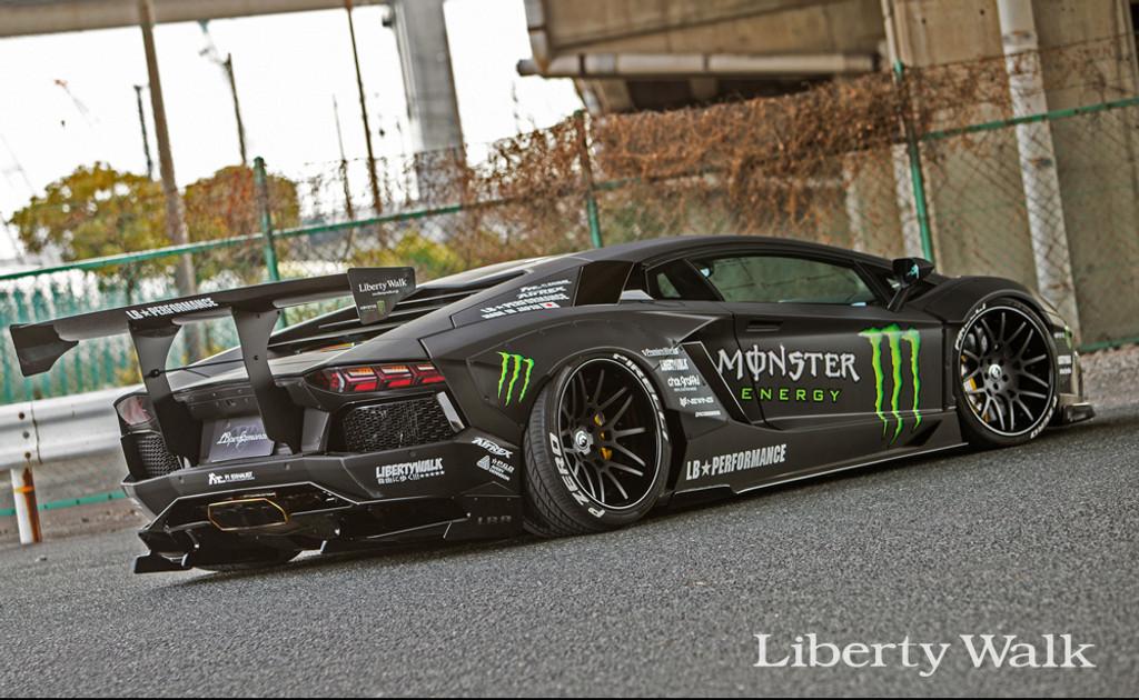 Lamborghini Aventador Liberty Walk Bodykit