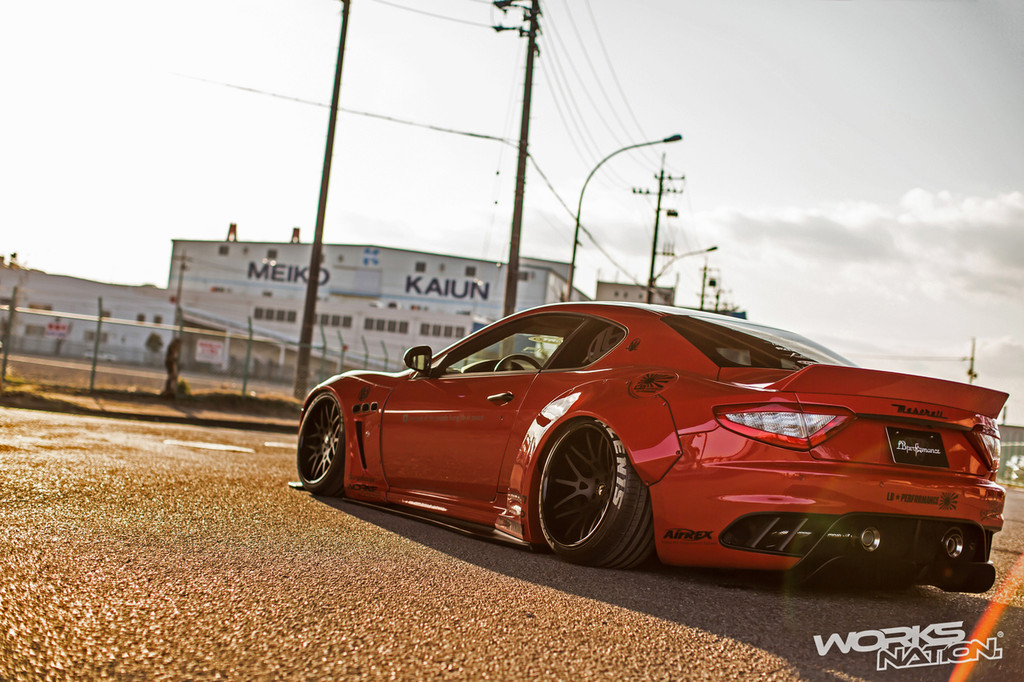 Maserati Granturismo Liberty Walk Body Kit