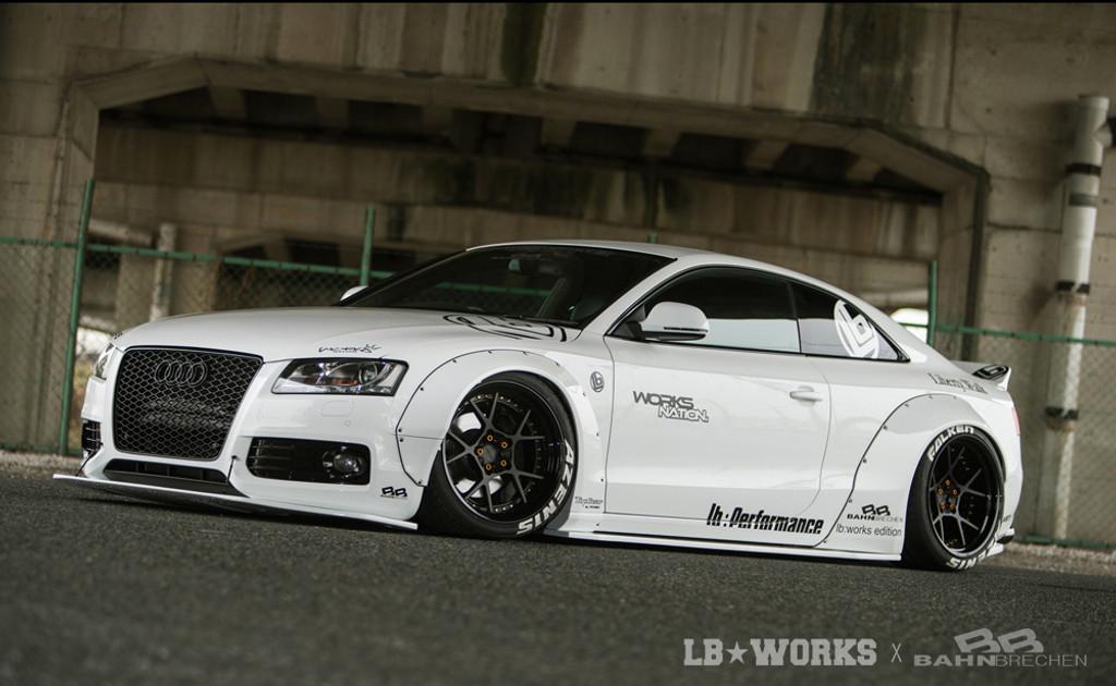 Audi A5/S5 Liberty Walk Stance Body Kit