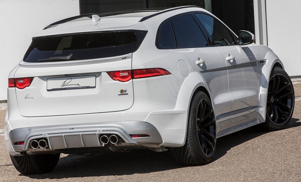 Jaguar F Pace Lumma Design CLR F Body Kit