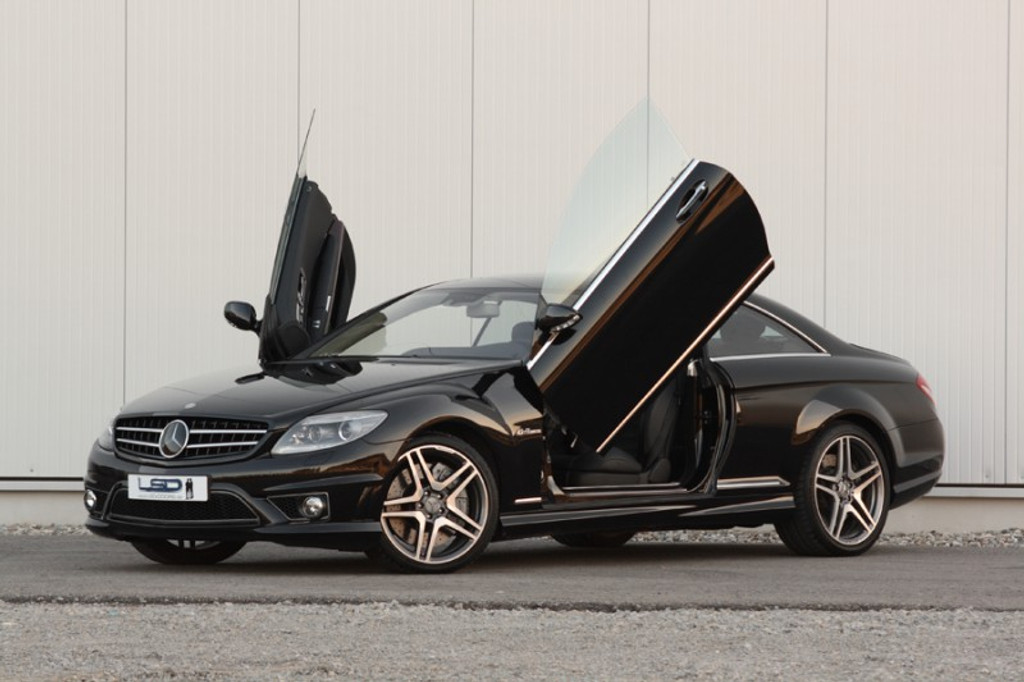 Mercedes CL Class LSD Door Conversion Kit