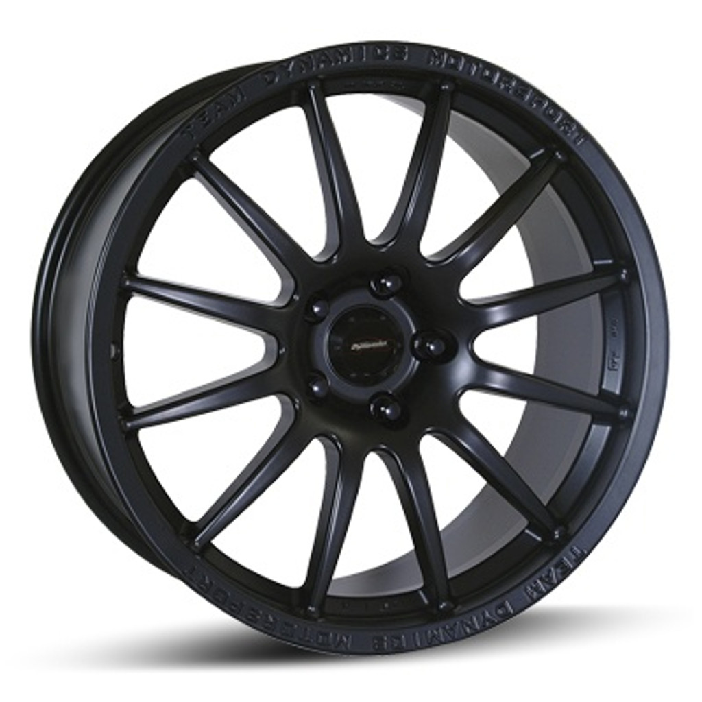 "16"" Team Dynamics Pro Race 1.2 Alloy Wheels Black"