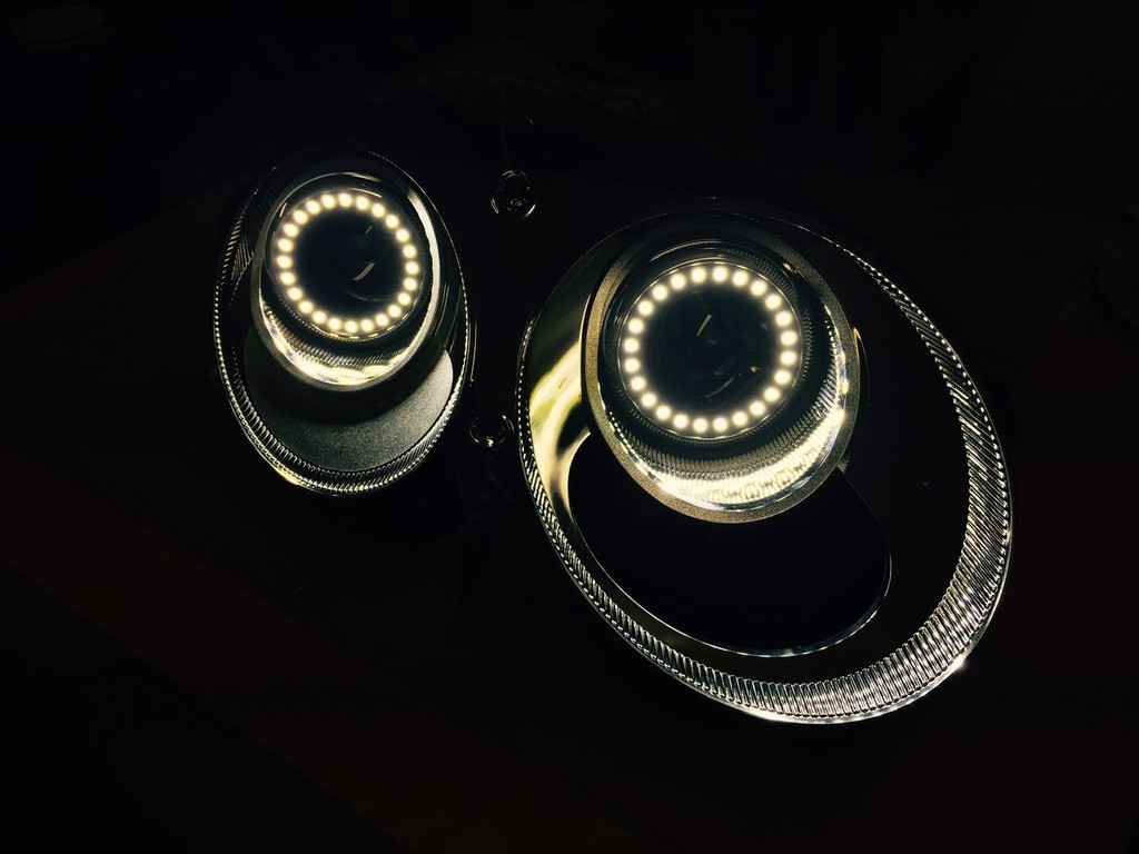 Bentley Continental GT LED Headlight upgrade 2012 Spec