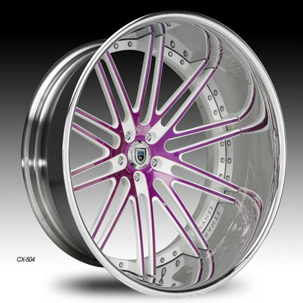 "Asanti Alloy Wheels CX-504 20""-24"""