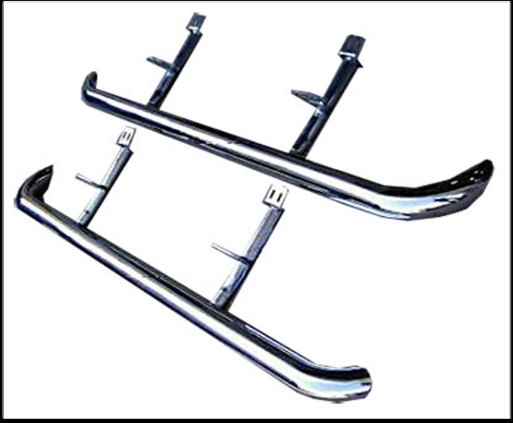 Range Rover Side Tubes Stainless Steel
