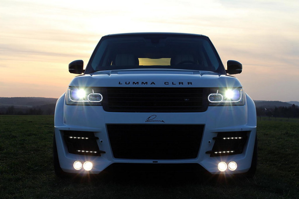 Range Rover Vogue 2013 Lumma Design Body kit