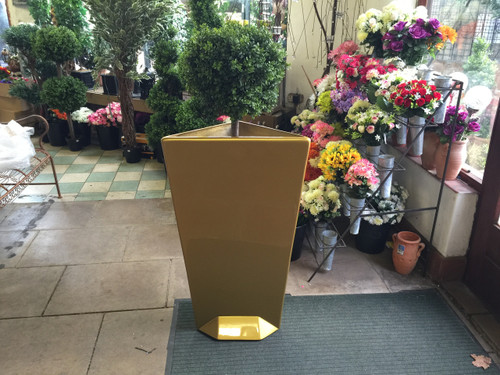 Meduza Design Gold Planter